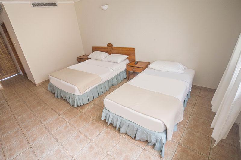 Habitación Standar Hotel Mendihuaca en Santa Marta cerca a Tayrona
