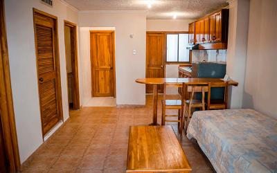 Apartment Room Hotel Mendihuaca in Santa Marta near Tayrona