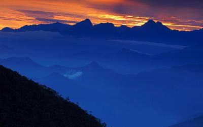 Vista desde la Sierra Nevada